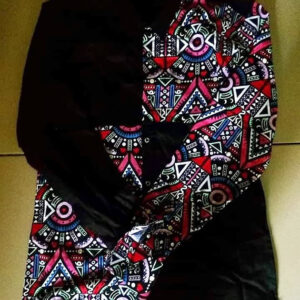 Traditional Print Cooperate Long Sleeve Shirt