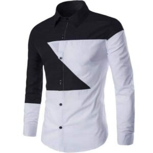 Black and White long sleeve shirt, for official purpose
