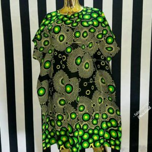 Traditional print Free gown