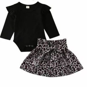 Baby Spring Autumn Dress- Infant kids Baby Girl outfit-12months